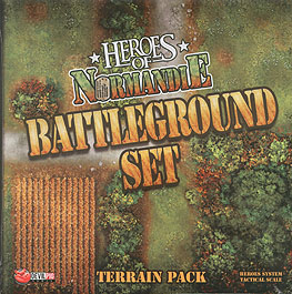 Spirit Games (Est. 1984) - Supplying role playing games (RPG), wargames rules, miniatures and scenery, new and traditional board and card games for the last 20 years sells Heroes of Normandie: Battleground Set Terrain Pack