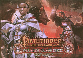 Spirit Games (Est. 1984) - Supplying role playing games (RPG), wargames rules, miniatures and scenery, new and traditional board and card games for the last 20 years sells Pathfinder Adventure Card Game: Paladin Class Deck