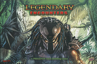 Spirit Games (Est. 1984) - Supplying role playing games (RPG), wargames rules, miniatures and scenery, new and traditional board and card games for the last 20 years sells Legendary Encounters: A Predator Deck Building Game