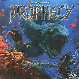 Spirit Games (Est. 1984) - Supplying role playing games (RPG), wargames rules, miniatures and scenery, new and traditional board and card games for the last 20 years sells Prophecy Expansion 2: Water Realm