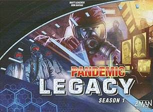 Spirit Games (Est. 1984) - Supplying role playing games (RPG), wargames rules, miniatures and scenery, new and traditional board and card games for the last 20 years sells Pandemic Legacy Season 1 Blue Box