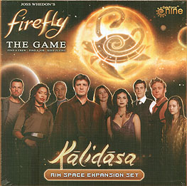 Spirit Games (Est. 1984) - Supplying role playing games (RPG), wargames rules, miniatures and scenery, new and traditional board and card games for the last 20 years sells Firefly: Kalidasa