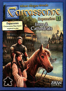 Spirit Games (Est. 1984) - Supplying role playing games (RPG), wargames rules, miniatures and scenery, new and traditional board and card games for the last 20 years sells Carcassonne Expansion 1: Inns and Cathedrals