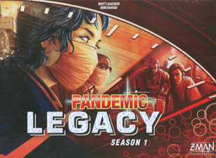 Spirit Games (Est. 1984) - Supplying role playing games (RPG), wargames rules, miniatures and scenery, new and traditional board and card games for the last 20 years sells Pandemic Legacy Season 1 Red Box