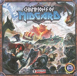 Spirit Games (Est. 1984) - Supplying role playing games (RPG), wargames rules, miniatures and scenery, new and traditional board and card games for the last 20 years sells Champions of Midgard
