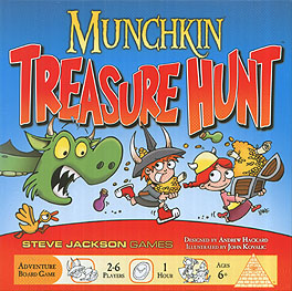 Spirit Games (Est. 1984) - Supplying role playing games (RPG), wargames rules, miniatures and scenery, new and traditional board and card games for the last 20 years sells Munchkin Treasure Hunt