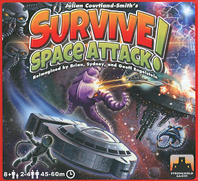 Spirit Games (Est. 1984) - Supplying role playing games (RPG), wargames rules, miniatures and scenery, new and traditional board and card games for the last 20 years sells Survive: Space Attack!