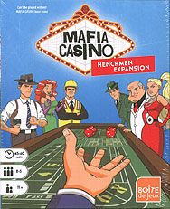 Spirit Games (Est. 1984) - Supplying role playing games (RPG), wargames rules, miniatures and scenery, new and traditional board and card games for the last 20 years sells Mafia Casino: Henchmen Expansion