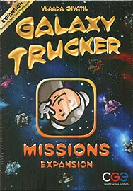 Spirit Games (Est. 1984) - Supplying role playing games (RPG), wargames rules, miniatures and scenery, new and traditional board and card games for the last 20 years sells Galaxy Trucker: Missions Expansion