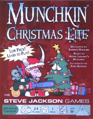 Spirit Games (Est. 1984) - Supplying role playing games (RPG), wargames rules, miniatures and scenery, new and traditional board and card games for the last 20 years sells Munchkin Christmas Lite