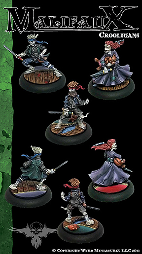 Spirit Games (Est. 1984) - Supplying role playing games (RPG), wargames rules, miniatures and scenery, new and traditional board and card games for the last 20 years sells [WYR2049] The Resurrectionists: Crooligans (3) by