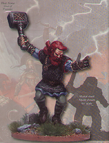 Spirit Games (Est. 1984) - Supplying role playing games (RPG), wargames rules, miniatures and scenery, new and traditional board and card games for the last 20 years sells [OGAM101] Norse God Thor