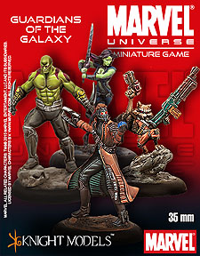 Spirit Games (Est. 1984) - Supplying role playing games (RPG), wargames rules, miniatures and scenery, new and traditional board and card games for the last 20 years sells [35MV100] Guardians of the Galaxy Starter Set