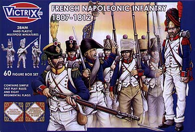 Spirit Games (Est. 1984) - Supplying role playing games (RPG), wargames rules, miniatures and scenery, new and traditional board and card games for the last 20 years sells [VX0005] French Napoleonic Infantry 1807-1812