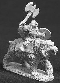 Spirit Games (Est. 1984) - Supplying role playing games (RPG), wargames rules, miniatures and scenery, new and traditional board and card games for the last 20 years sells [02294] Thorondil of Kragmarr (Dwarf Mtd on Bear)