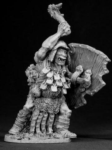Spirit Games (Est. 1984) - Supplying role playing games (RPG), wargames rules, miniatures and scenery, new and traditional board and card games for the last 20 years sells [02325] Kagunk Ogre Cheiftain