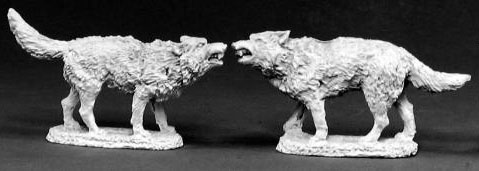 Spirit Games (Est. 1984) - Supplying role playing games (RPG), wargames rules, miniatures and scenery, new and traditional board and card games for the last 20 years sells [02415] Dire Wolves (2)