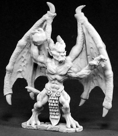 Spirit Games (Est. 1984) - Supplying role playing games (RPG), wargames rules, miniatures and scenery, new and traditional board and card games for the last 20 years sells [02424] Gargoyle Leader