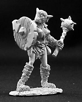 Spirit Games (Est. 1984) - Supplying role playing games (RPG), wargames rules, miniatures and scenery, new and traditional board and card games for the last 20 years sells [03263] Ferrunk Female Bugbear Cleric
