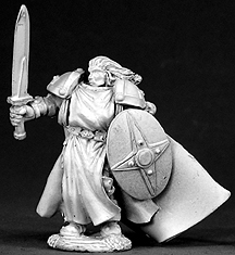 Spirit Games (Est. 1984) - Supplying role playing games (RPG), wargames rules, miniatures and scenery, new and traditional board and card games for the last 20 years sells [03302] Balthazar Ironfaith, Cleric
