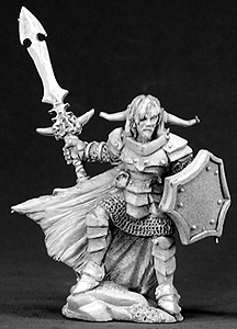 Spirit Games (Est. 1984) - Supplying role playing games (RPG), wargames rules, miniatures and scenery, new and traditional board and card games for the last 20 years sells [03307] Kalrix, Male Warrior
