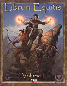Spirit Games (Est. 1984) - Supplying role playing games (RPG), wargames rules, miniatures and scenery, new and traditional board and card games for the last 20 years sells Librum Equitis Vol 1