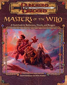 Spirit Games (Est. 1984) - Supplying role playing games (RPG), wargames rules, miniatures and scenery, new and traditional board and card games for the last 20 years sells Masters of the Wild: A Guidebook to Barbarians, Druids and Rangers