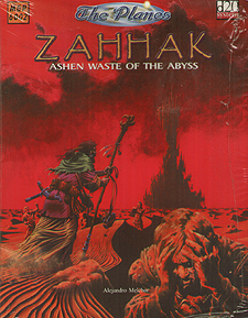Spirit Games (Est. 1984) - Supplying role playing games (RPG), wargames rules, miniatures and scenery, new and traditional board and card games for the last 20 years sells The Planes: Zahhak - Ashen Waste of the Abyss