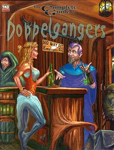 Spirit Games (Est. 1984) - Supplying role playing games (RPG), wargames rules, miniatures and scenery, new and traditional board and card games for the last 20 years sells Complete Guide to Doppelgangers