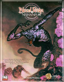 Spirit Games (Est. 1984) - Supplying role playing games (RPG), wargames rules, miniatures and scenery, new and traditional board and card games for the last 20 years sells Blood Reign of Nishanpur