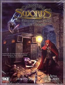 Spirit Games (Est. 1984) - Supplying role playing games (RPG), wargames rules, miniatures and scenery, new and traditional board and card games for the last 20 years sells Carnival of Swords