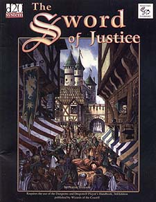 Spirit Games (Est. 1984) - Supplying role playing games (RPG), wargames rules, miniatures and scenery, new and traditional board and card games for the last 20 years sells The Sword of Justice