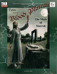 Spirit Games (Est. 1984) - Supplying role playing games (RPG), wargames rules, miniatures and scenery, new and traditional board and card games for the last 20 years sells Tales From the Blood Plateau: Mask of Marruk