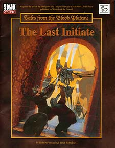 Spirit Games (Est. 1984) - Supplying role playing games (RPG), wargames rules, miniatures and scenery, new and traditional board and card games for the last 20 years sells Tales From the Blood Plateau: The Last Initiate
