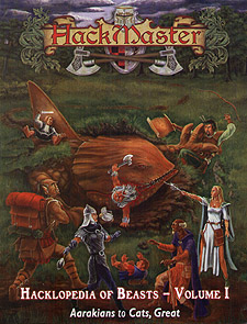 Spirit Games (Est. 1984) - Supplying role playing games (RPG), wargames rules, miniatures and scenery, new and traditional board and card games for the last 20 years sells Hacklopedia of Beasts Vol 1: Aarakians to Cats, Great
