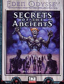 Spirit Games (Est. 1984) - Supplying role playing games (RPG), wargames rules, miniatures and scenery, new and traditional board and card games for the last 20 years sells Eden Odyssey: Secrets of the Ancients
