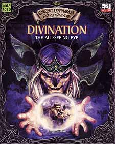 Spirit Games (Est. 1984) - Supplying role playing games (RPG), wargames rules, miniatures and scenery, new and traditional board and card games for the last 20 years sells Encyclopedia Arcane: Divination - The All-Seeing Eye