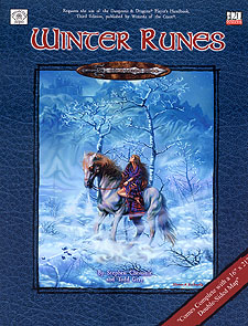 Spirit Games (Est. 1984) - Supplying role playing games (RPG), wargames rules, miniatures and scenery, new and traditional board and card games for the last 20 years sells Winter Runes
