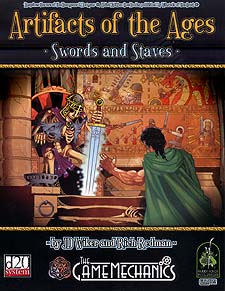 Spirit Games (Est. 1984) - Supplying role playing games (RPG), wargames rules, miniatures and scenery, new and traditional board and card games for the last 20 years sells Artifacts of the Ages: Swords and Staves