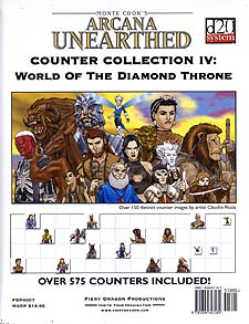 Spirit Games (Est. 1984) - Supplying role playing games (RPG), wargames rules, miniatures and scenery, new and traditional board and card games for the last 20 years sells Counter Collection IV: World of the Diamond Throne