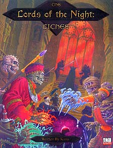 Spirit Games (Est. 1984) - Supplying role playing games (RPG), wargames rules, miniatures and scenery, new and traditional board and card games for the last 20 years sells Lords of the Night: Liches