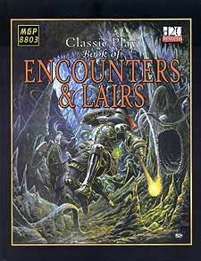 Spirit Games (Est. 1984) - Supplying role playing games (RPG), wargames rules, miniatures and scenery, new and traditional board and card games for the last 20 years sells Classic Play Book of Encounters and Lairs