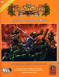 Spirit Games (Est. 1984) - Supplying role playing games (RPG), wargames rules, miniatures and scenery, new and traditional board and card games for the last 20 years sells Crypt of the Lizard King (I2) (4th Ed)