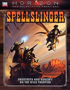 Spirit Games (Est. 1984) - Supplying role playing games (RPG), wargames rules, miniatures and scenery, new and traditional board and card games for the last 20 years sells Spellslinger: Horizon