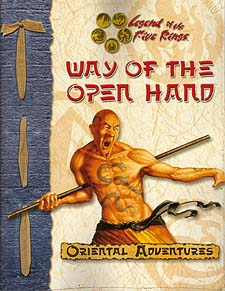 Spirit Games (Est. 1984) - Supplying role playing games (RPG), wargames rules, miniatures and scenery, new and traditional board and card games for the last 20 years sells Way of the Open Hand