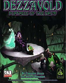 Spirit Games (Est. 1984) - Supplying role playing games (RPG), wargames rules, miniatures and scenery, new and traditional board and card games for the last 20 years sells Dezzavold: Fortress of the Drow