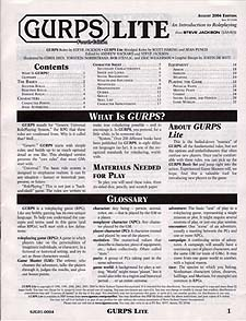 Spirit Games (Est. 1984) - Supplying role playing games (RPG), wargames rules, miniatures and scenery, new and traditional board and card games for the last 20 years sells GURPS Lite