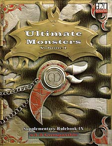 Spirit Games (Est. 1984) - Supplying role playing games (RPG), wargames rules, miniatures and scenery, new and traditional board and card games for the last 20 years sells Ultimate Monsters Volume 1