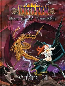 Spirit Games (Est. 1984) - Supplying role playing games (RPG), wargames rules, miniatures and scenery, new and traditional board and card games for the last 20 years sells Infernum Volume II Book of the Tormentor