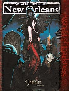 Spirit Games (Est. 1984) - Supplying role playing games (RPG), wargames rules, miniatures and scenery, new and traditional board and card games for the last 20 years sells City of the Damned: New Orleans
